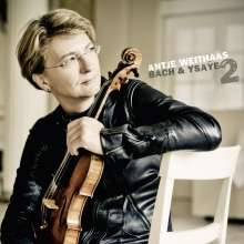 Antje Weithaas - Bach & Ysaye Vol.2, CD