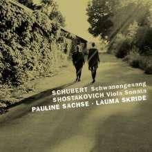 Franz Schubert (1797-1828): Schwanengesang D. 957 für Viola und Klavier, CD
