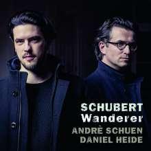 """Franz Schubert (1797-1828): Lieder - """"Wanderer"""", CD"""