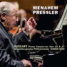 Wolfgang Amadeus Mozart (1756-1791): Klavierkonzerte Nr.23 & 27, CD