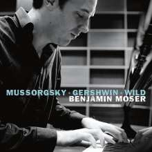 Benjamin Moser - Pictures & Songs, CD
