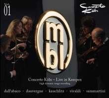 Concerto Köln Vol.1, CD