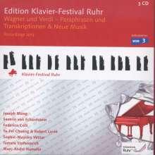 Edition Klavier-Festival Ruhr Vol.31 - Wagner und Verdi (Paraphrasen und Transkriptionen) & Neue Musik, 3 CDs