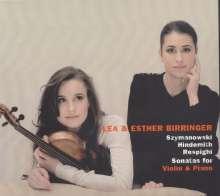 Lea Birringer - Sonaten für Violine & Klavier, CD