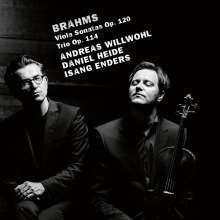 Johannes Brahms (1833-1897): Sonaten für Viola & Klavier op.120 Nr.1 & 2, CD