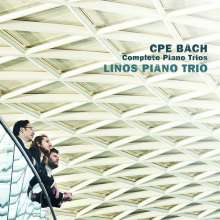 Carl Philipp Emanuel Bach (1714-1788): Sämtliche Klaviertrios, 2 CDs