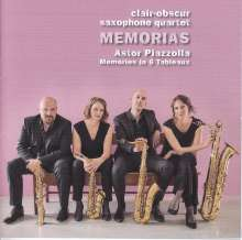 Clair-Obscur Saxophonquartett - Memorias, CD