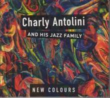 Charly Antolini (geb. 1937): New Colours, 2 CDs