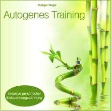 Rüdiger Siegel: Autogenes Training mit Entspannungsmusik inkl. persönlicher Entspannungsberatung, CD
