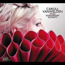 Caroll Vanwelden (geb. 1971): Sings Shakespeare Sonnets, CD