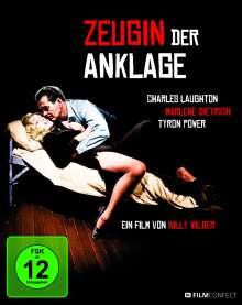 Zeugin der Anklage (1957) (Blu-ray im Digipak), Blu-ray Disc