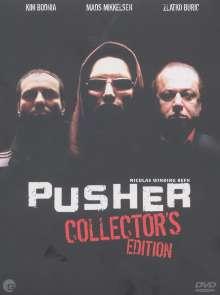 Pusher I-III  (mit CD), 3 DVDs und 1 CD