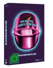 Der Tag, an dem die Erde still stand (1951) (Blu-ray im Mediabook), Blu-ray Disc