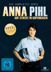 Anna Pihl - Auf Streife in Kopenhagen (Komplette Serie), 9 DVDs