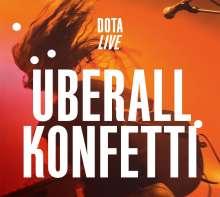Dota: Überall Konfetti - Live, CD