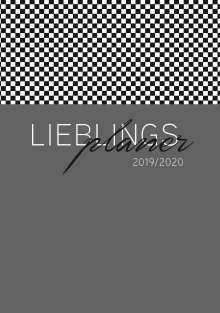 Lehrerkalender 2019/2020 - im Format DIN A5 in anthrazit, Buch