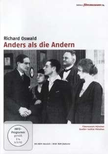 Anders als die Andern (Edition Filmmuseum), DVD