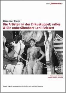 Alexander Kluge: Artisten / Unbezähmbare Leni Peickert, 2 DVDs