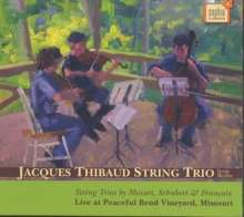 Jacques Thibaud String Trio, CD