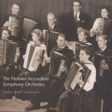 Hohner Accordion Symphony Orchestra - Town Hall Concert, 2 CDs