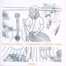 Christian Buck - Manuel M. Ponce / Leo Brouwer / Antonio Lauro, CD