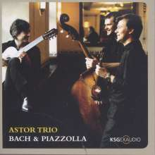 Astor Trio - Bach & Piazzolla, CD