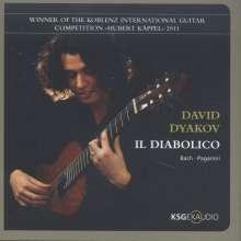 David Dyakov - Il Diabolico, CD