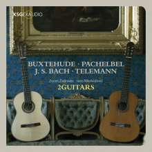 2Guitars - Werke von Buxtehude, Pachelbel, Bach, Telemann, 2 CDs