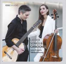 Lena Kravets & Tobias Kassung - Lieder, Songs & Canciones für Cello & Gitarre, CD