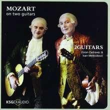 2Guitars - Mozart on two Guitars, CD