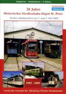 20 Jahre Historisches Straßenbahn Depot St.Peter, DVD