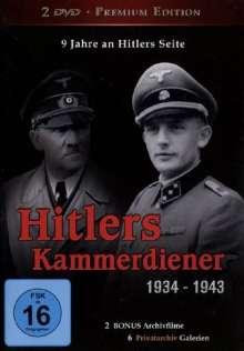 Die Kammerdiener Adolf Hitlers, DVD