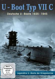U-Boot Typ VII C - Deutsche U-Boote 1935-1945, DVD