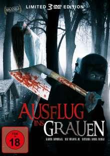 Ausflug ins Grauen (3 Filme), 3 DVDs
