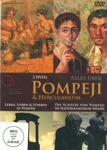 Alles über Pompeji, 2 DVDs