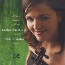 Karina Buschinger & Paul Rivinius, CD