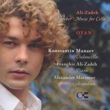 Franghiz Ali-Zade (geb. 1947): Kammermusik für Cello, CD