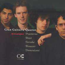 Gran Guitarra Quartet - Mosaique, CD