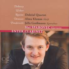 Blaz Sparovec - Enter Clarinet, CD