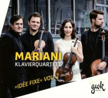 """Mariani Klavierquartett - """"Idee Fixe"""" Vol.2, CD"""