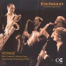 Pindakaas Saxophon Quartett - Voyage, CD