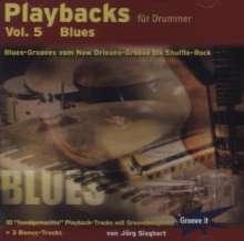 Jörg Sieghart: Playbacks für Drummer Vol. 5 (Blues) Groove It, CD