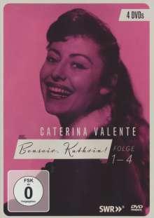 Caterina Valente - Bonsoir Kathrin! Folge 1-4, 4 DVDs