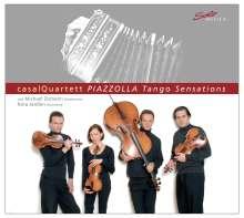 Astor Piazzolla (1921-1992): 5 Tango Sensations, CD