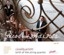 Casal Quartett - Birth of the String Quartet Vol.2, CD
