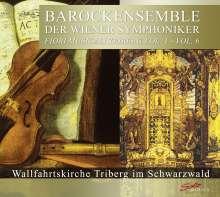 Barockensemble der Wiener Symphoniker - Fiori Musicali Triberg, 6 CDs