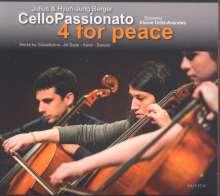 CelloPassionato - 4 for Peace, CD