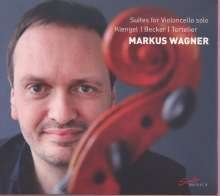 Markus Wagner - Suites for Violoncello solo, CD