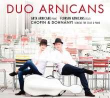 Duo Arnicans - Chopin & Dohnanyi, CD