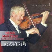 Henri Marteau (1874-1934): Kammermusik, CD